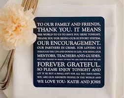 wedding thank you notes printed wedding reception thank you card wedding thank you