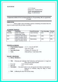Asp Net Resume For Experienced Entry Level Computer Programmer Resume Free Resume Example And
