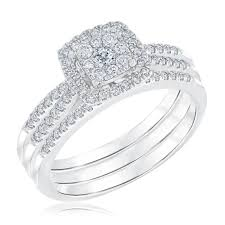 what is a bridal set ring ellaura harmony multitop cushion design engagement and wedding