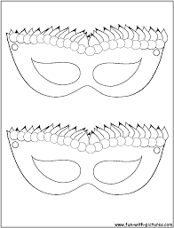 11 pics of mardi gras jester mask coloring page mardi gras find