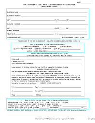 new business client information template paper registration form template cash sales receipt