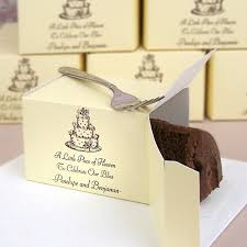 wedding cake boxes for guests personalised wedding cake boxes for guests idea in 2017
