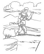 usa printables america civil war us history coloring