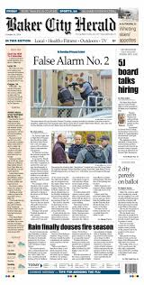 the baker city herald paper 5 29 15 by northeast oregon news issuu