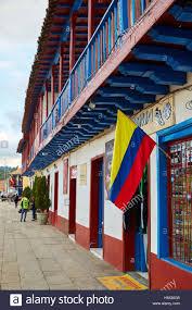 Bogota Flag Zipaquira Cundinamarca Savannah Of Bogota Colombia South