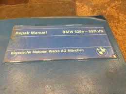 1983 1984 1985 1986 1987 bmw e28 528e 533i 535i 524td service