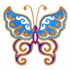 butterfly machine embroidery design embroidery
