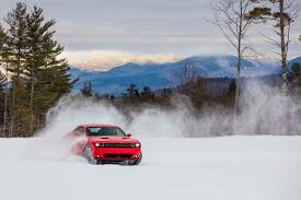 nissan versa in snow first drive 2017 dodge challenger gt automobile magazine
