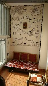 indian imports home decor warli paintin warliart indian painting indian arts warli