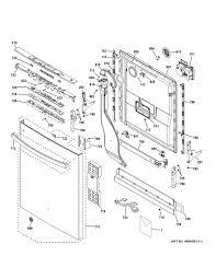 ge dishwasher parts model gdt580smf7es sears partsdirect
