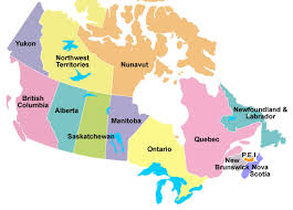 map of canada by province map of canada with provinces and territories major