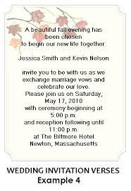 wedding invitations format sle wedding invitation wording