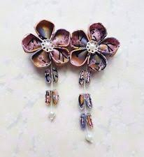 kanzashi hair ornaments geisha hair ebay