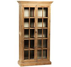 reclaimed wood curio cabinet cabinets sacred space imports