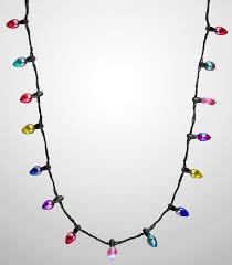 christmas light necklace christmas light bulb led up christmas necklace fantastic