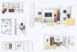 plans de cuisines ouvertes plan cuisine ouverte inspirations avec plan cuisine semi ouverte