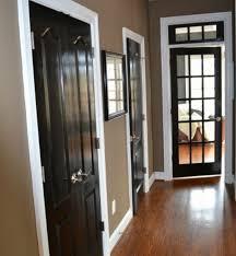 wood doors with white trim design interior home decor