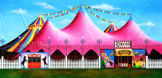 circus tent rental circus tent scenic stage backdrop rental theatreworld