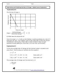 graphs of proportional relationship lesson math worksheets land