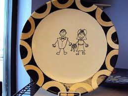 signable wedding platters 107 best signature plates images on party plates