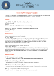 sample targeted resume finance trainee resume sample resume writing service after