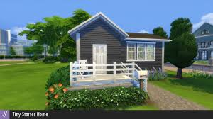Starter Homes by Sims 4 Tiny Starter House Youtube