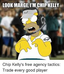Meme Chip - look marge l mchip kelly nfl memes chip kelly s free agency tactics