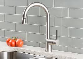 modern kitchen faucets stainless steel hahn ultra modern single lever pull kitchen faucet stainless