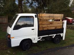 1992 subaru sambar 1991 subaru sambar mini pickup with power lift gate and 4wd for sale