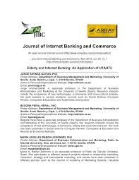 elderly and internet banking an application of utaut2