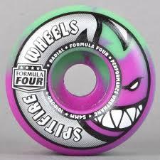 formula 4 spitfire spitfire wheels radials purple mint swirl 101d formula four