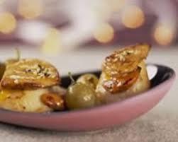 cuisiner foie gras frais recette jacques poêlées au foie gras