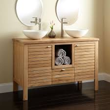 Teak Vanity Bathroom by Bathroom Vessel Sink And Cabinet Bathroom Bathroom Vessel