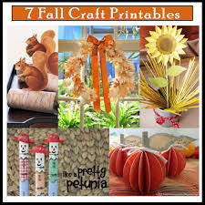 fall craft templates eliolera com