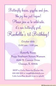 pastel butterfly birthday invitations little u0027s soft party
