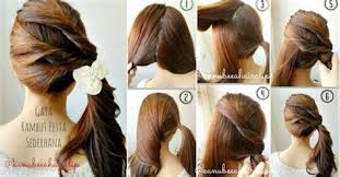 tutorial menata rambut panjang simple collection of tutorial menata rambut panjang lurus 27 cara menata