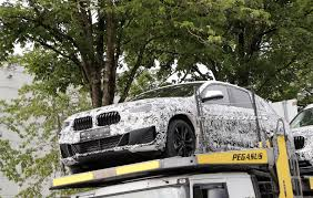 spied 2018 bmw x2 reveals attractive front end