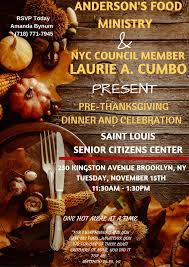 november 2016 pre thanksgiving dinner and celebration new york