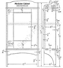 medicine cabinet plans wood plans diy free download mission style