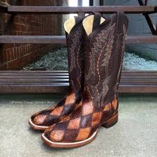 s country boots sale cinch s alligator cognac chocolate boots