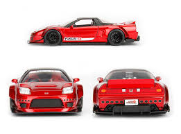 jdm tuner cars jdm tuners 2002 honda nsx type r japan spec candy red 1 24 scale