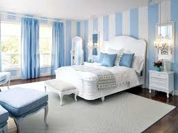 Grey And Blue Curtains Blue Curtains Grey Carpet White Wooden Bench Blue Pillow White