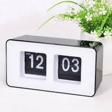 desk clock retro flip number desk clock 22 06 online shopping gearbest com