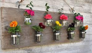 upcycled baby food jars wood vase u0026 candleholder make life lovely