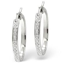 white gold hoops white gold diamond hoop earrings uk white gold diamond rings