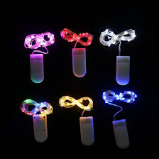 battery operated led string lights waterproof china led string lights button batteries operated water proof string