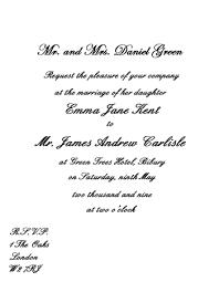 Wording Wedding Invitations Wedding Invitation Wording Etiquette