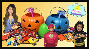 halloween trick or treat toy egg surprise kids candy outdoor fun