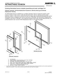 Marvin Retractable Screen 3 Urca 0308