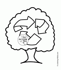 take care of the nature earth day coloring page for kids take care
